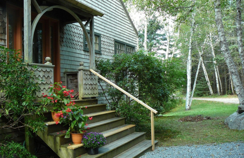 Rental exterior at Vacation Cottages.