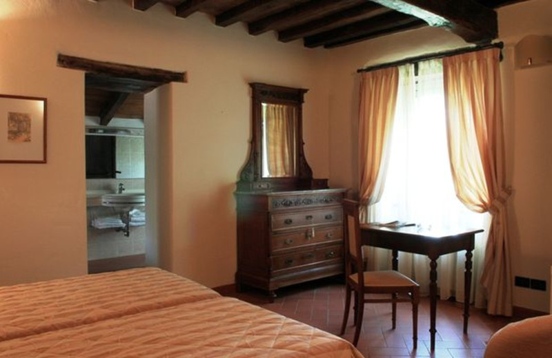 Guest room at Palazzo Loup Hotel.