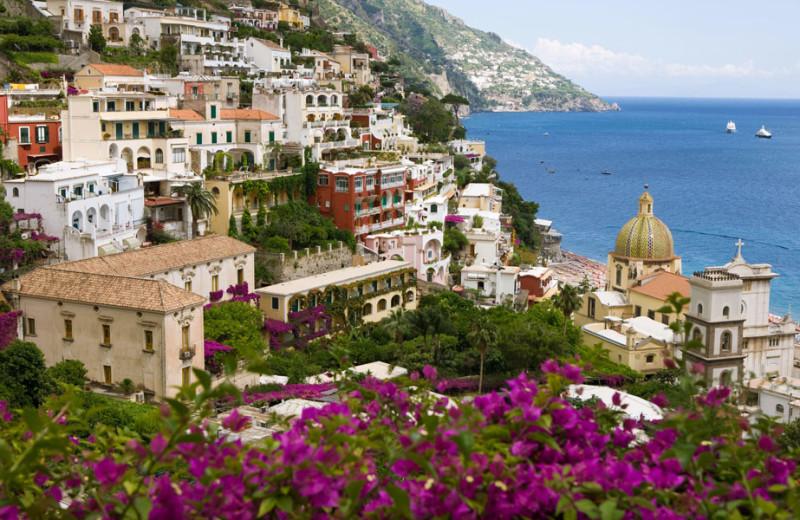 View from Hotel Palazzo Murat.
