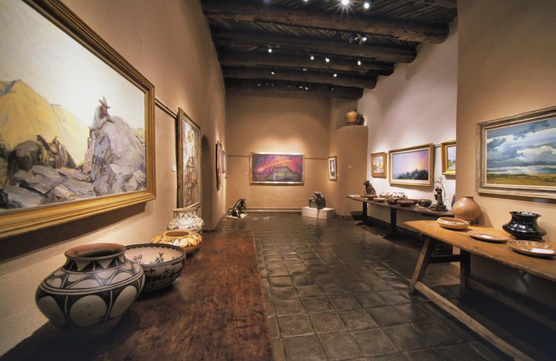 Museum near Hotel Chimayo de Santa Fe.