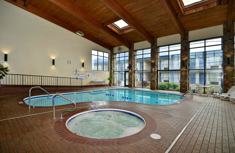 Pool Area at Best Western Center Pointe Inn