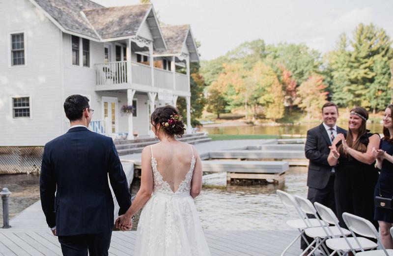 Weddings at Port Cunnington Lodge & Resort.