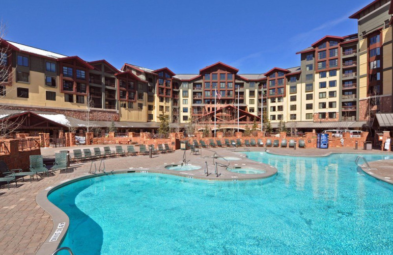 Outdoor pool at Grand Summit Resort Hotel.