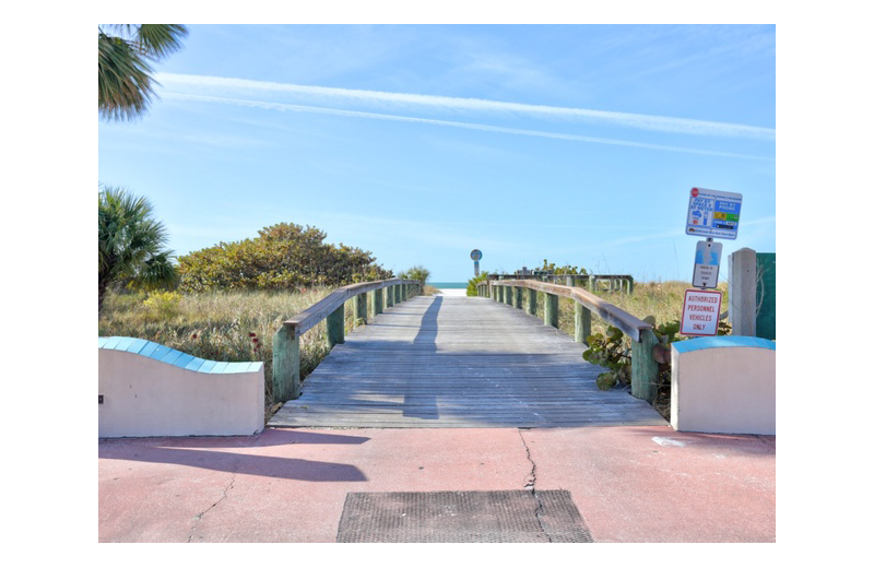 Beach at Gulf Winds Resort Condominiums.