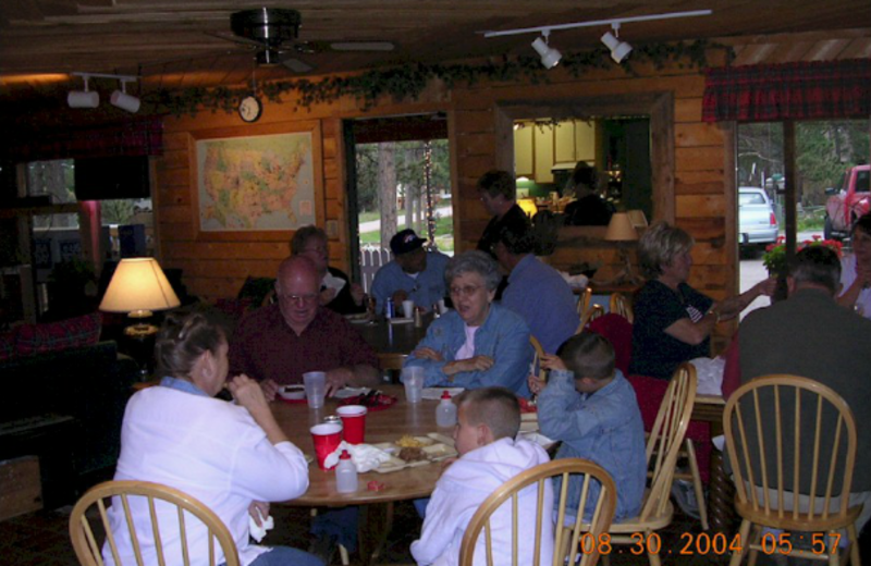 Group at Bristlecone Lodge.