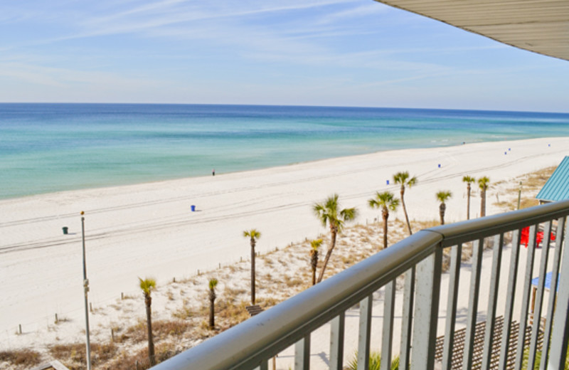 View from the balcony at Boardwalk Beach Resort Hotel & Convention Center