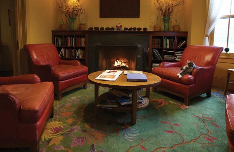 Lobby at The Porches Inn.