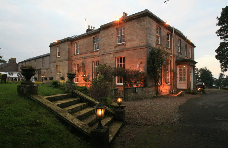 Exterior view of Marshall Meadows Country House Hotel.