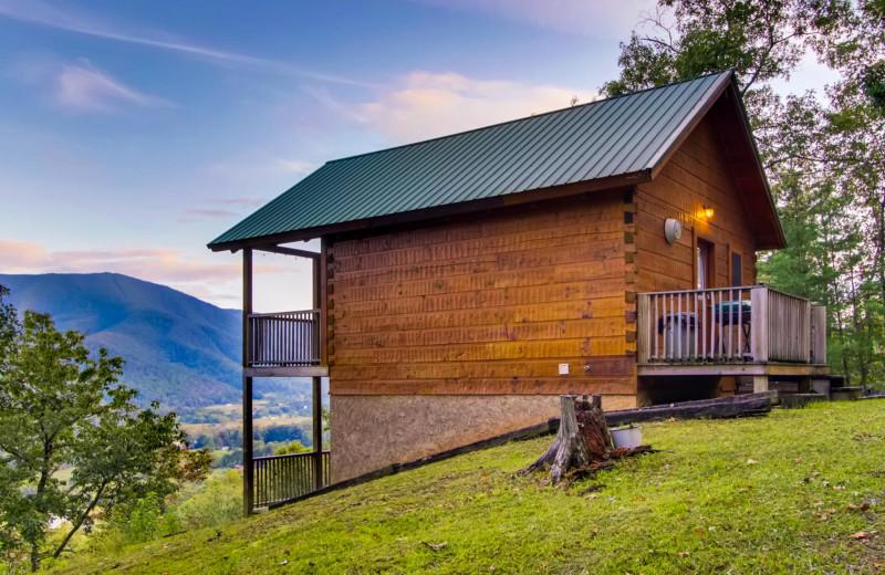 Rental exterior at Cove Mountain Resort.