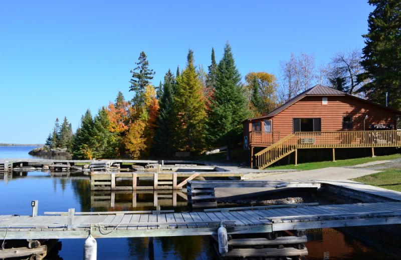 Exterior view of Pine Tree Cove Resort.