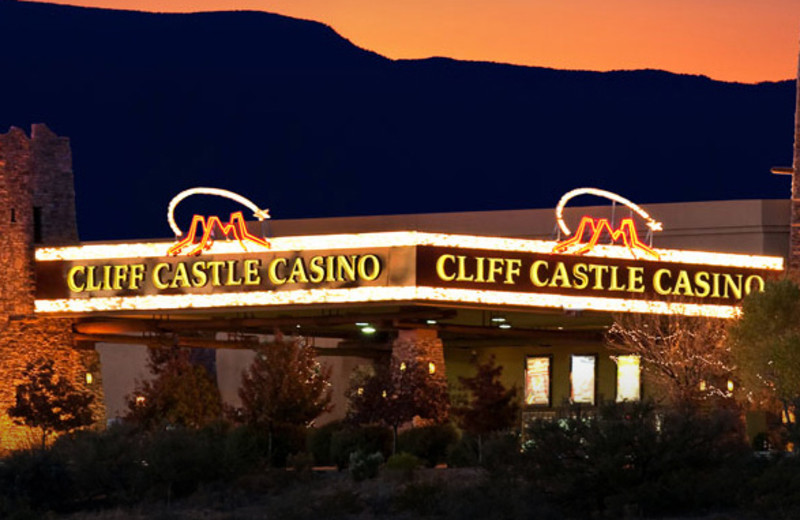 Exterior view of Lodge at Cliff Castle.