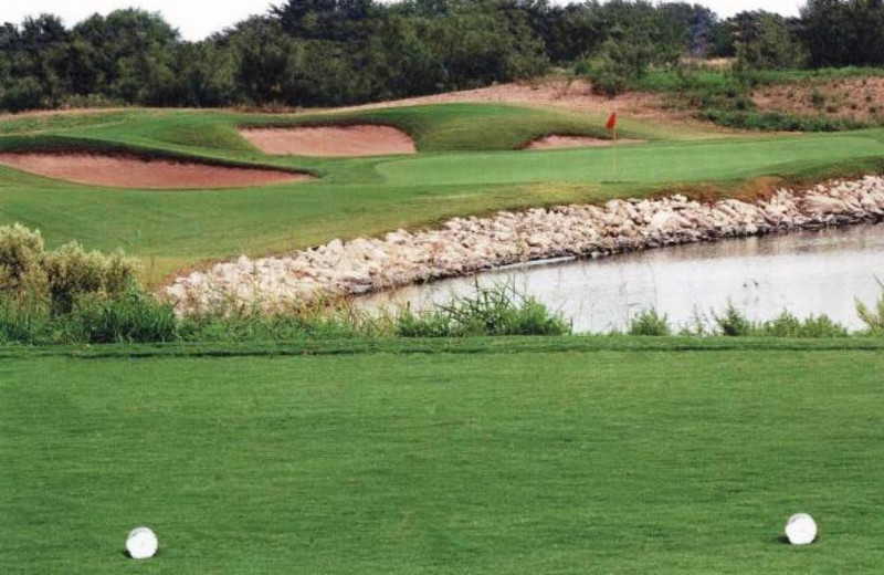 Quicksand Golf Course near Hotel Flora & Fauna.