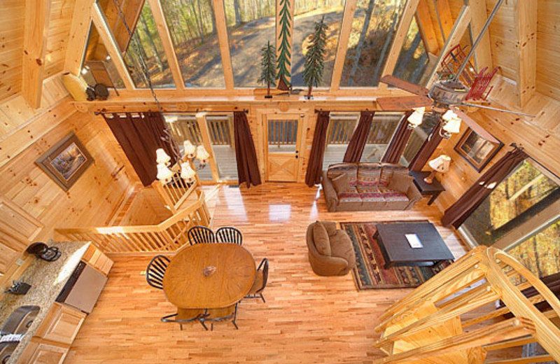 Vacation home interior view at American Patriot Getaways, LLC.