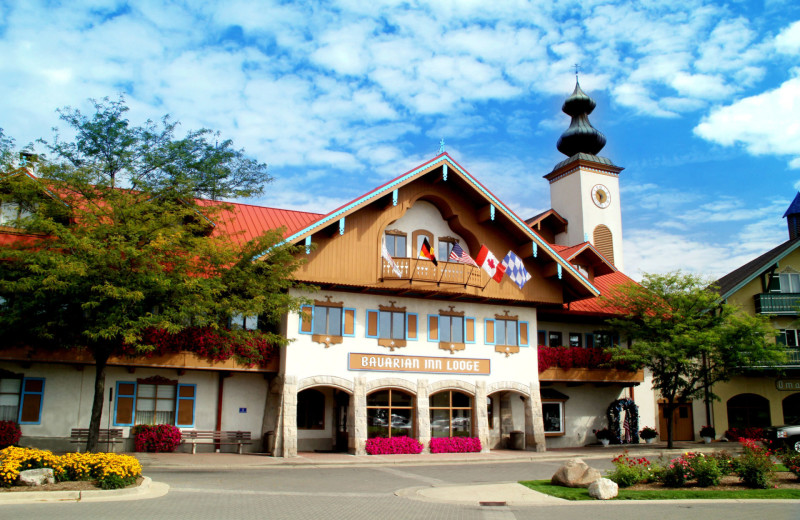 Exterior view of Bavarian Inn of Frankenmuth.