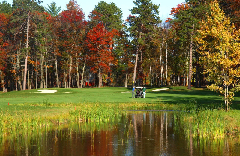Golf course at Big Sandy Lodge & Resort.