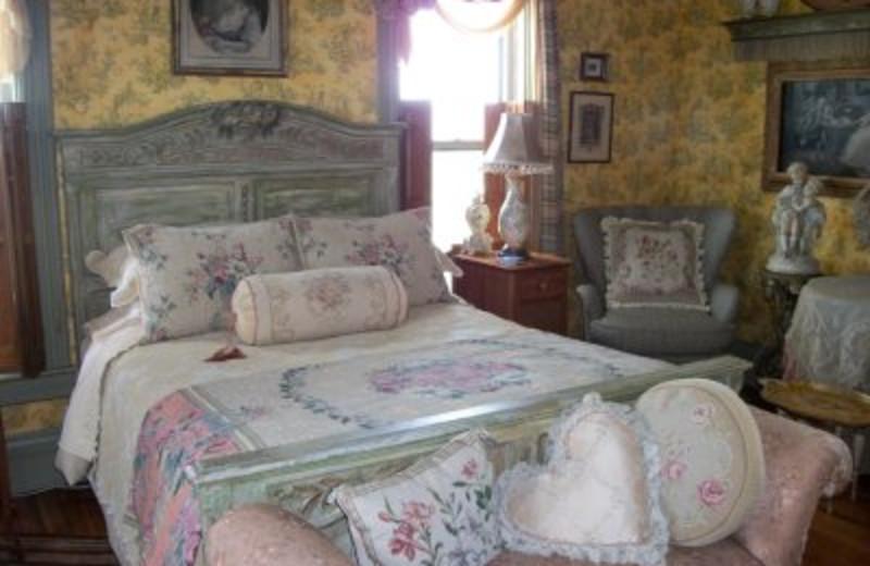 Guest room at Berwood Hill Inn.
