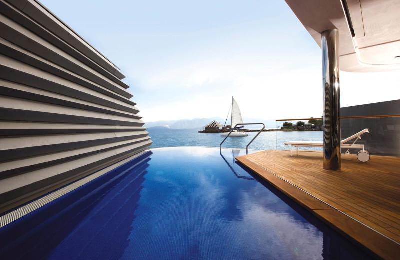 Suite pool at Elounda Beach Hotel.