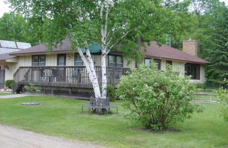 Exterior view of Sullivans Resort & Campground.