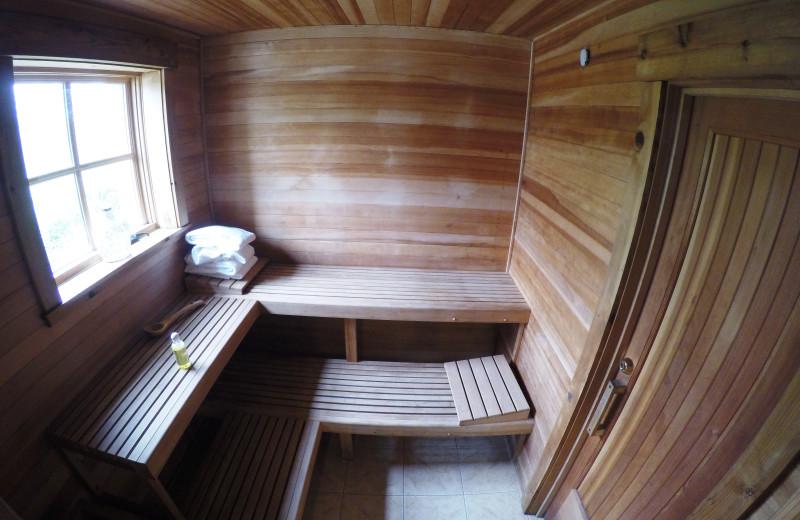 Sauna at Morrell Ranch.
