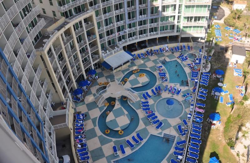 Outdoor pool at Avista Resort.