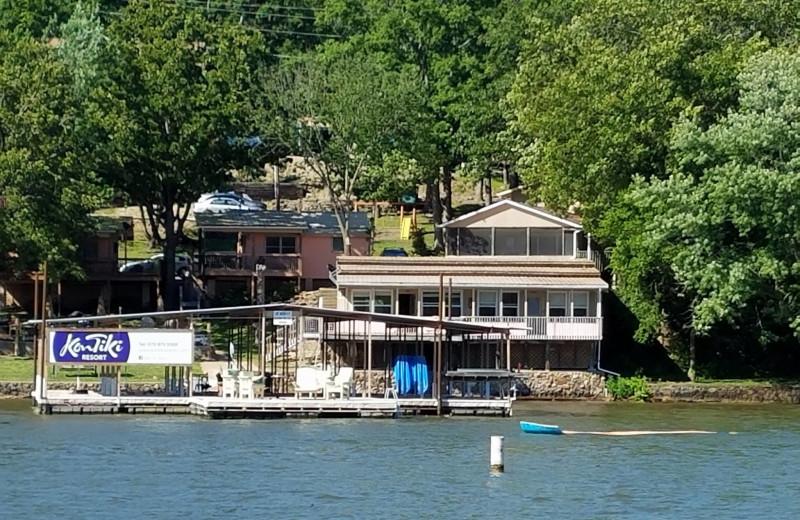 Exterior view of Kon Tiki Resort.