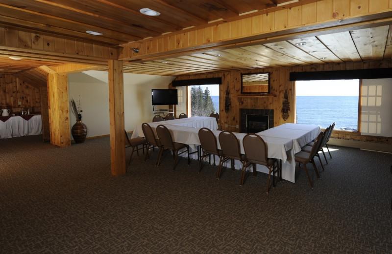 Meetings at Lutsen Resort on Lake Superior.