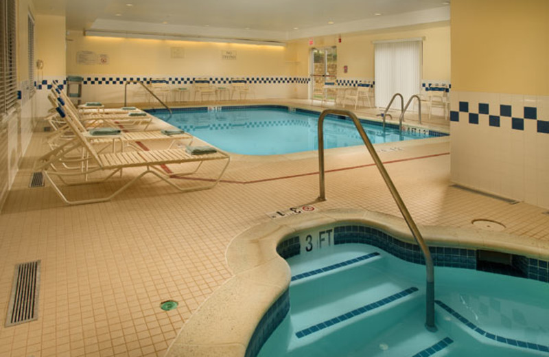 Indoor Pool and Hot Tub at Fairfield Inn Manassas