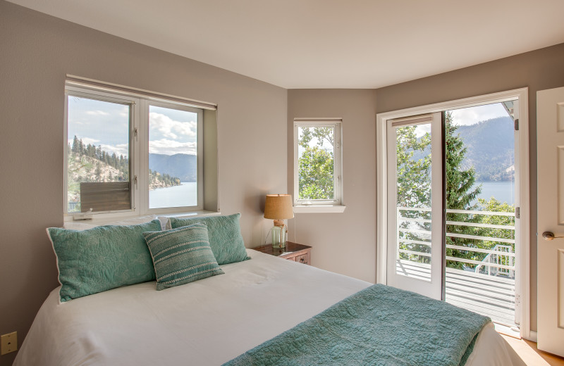 Rental bedroom at Sage Vacation Rentals.