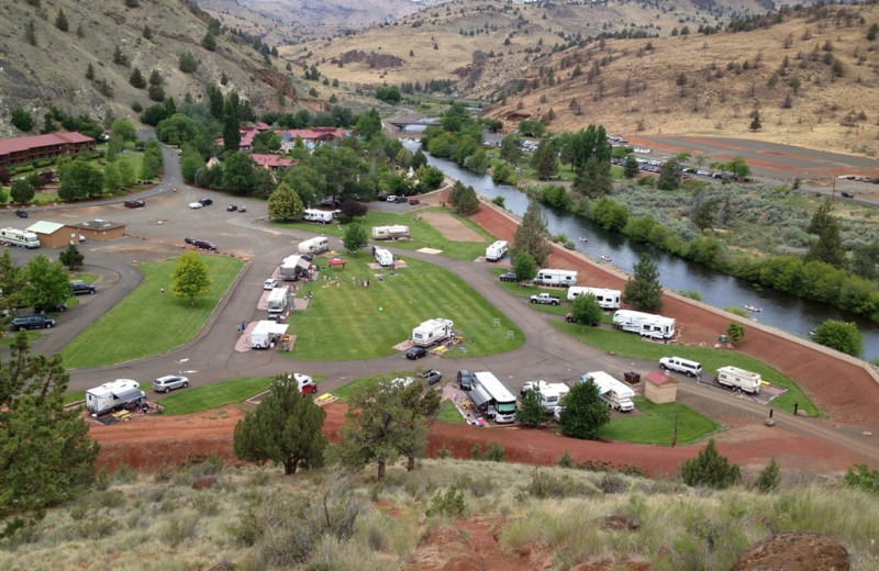 KahNeeTa Resort And Spa Warm Springs OR Resort Reviews - Map of kahneeta oregon