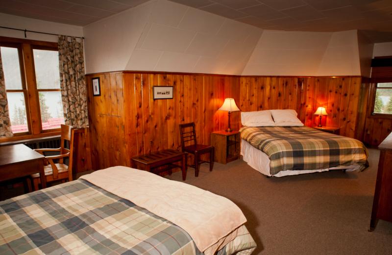 Guest Suite at Simpson's Num-Ti-Jah Lodge