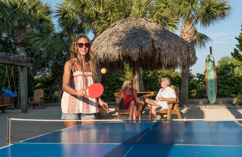 Ping Pong table at The Winds Resort Beach Club.