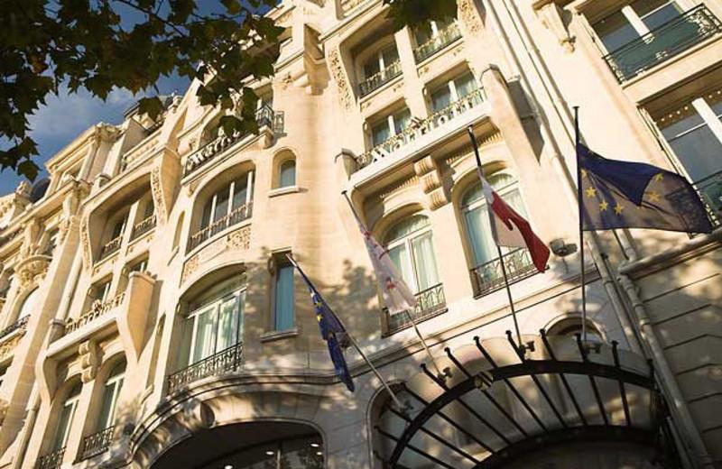 Exterior view of Paris Marriott Champs Elysees.