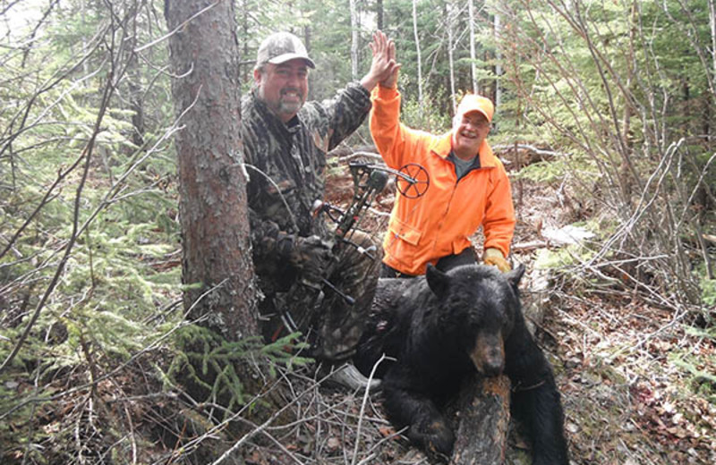 Hunting at Pine Point Lodge and Outposts.