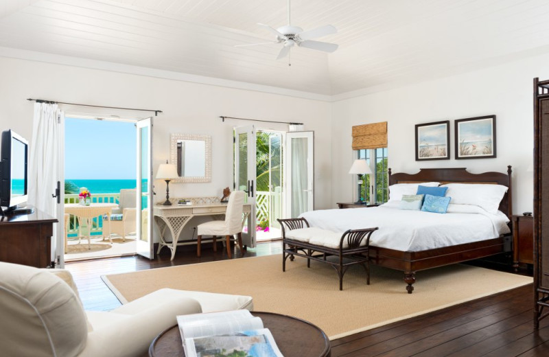 Bedroom at Villa Turquesa.