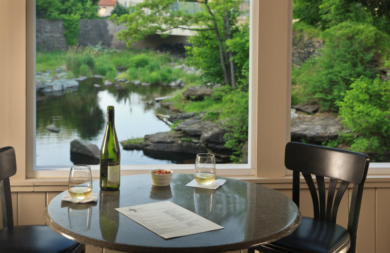 Dining with a View at Ledges Hotel