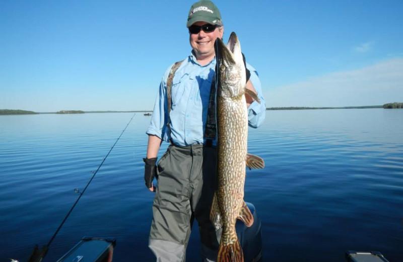 Fishing at Five Lakes Lodge