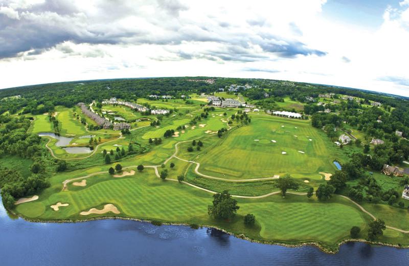 Golf course at Geneva National Resort.