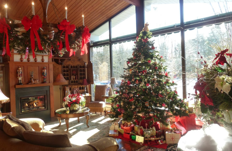 Christmas time at Crescent Lodge.