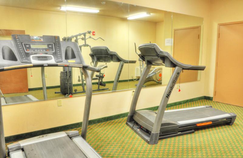 Fitness Center at the Lonestar Inn & Suites