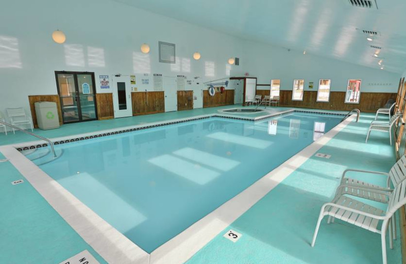Indoor pool at Trout Creek Condominium Resort.