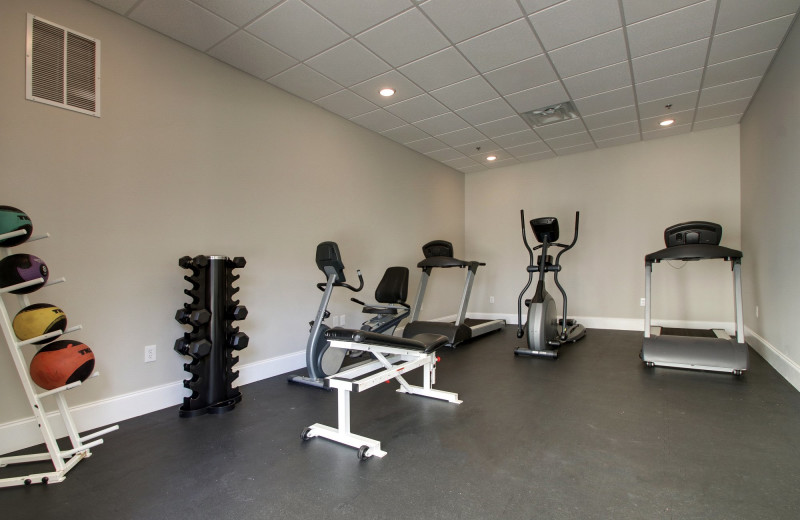 Fitness room at Islander Hotel & Resort.