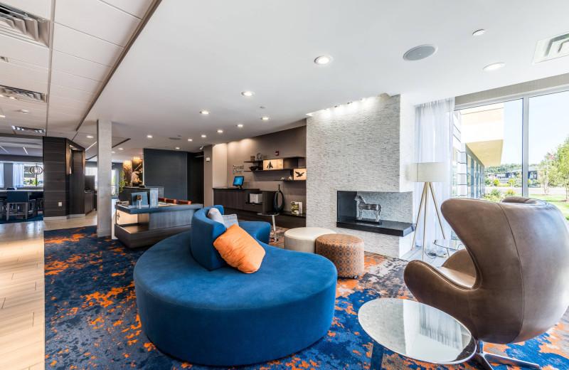 Lobby at Fairfield Inn & Suites - Stevensville.