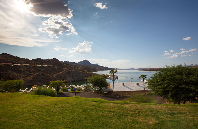 View from Havasu Springs Resort.