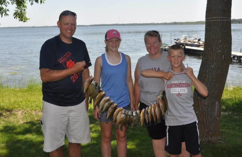 Fishing at Shady Grove Resort.