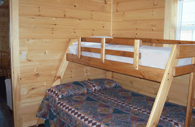 Bunk Beds at North Country Rivers