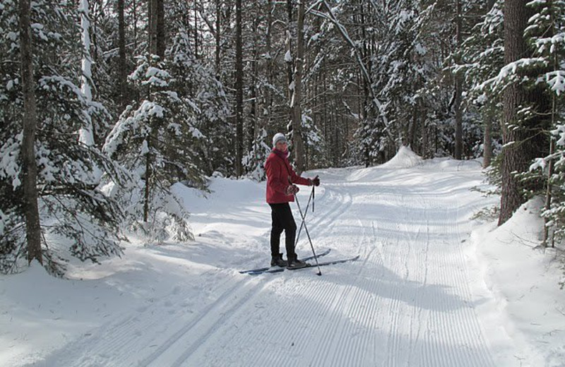 Cross Country Skiing at Lapland Lake Nordic Vacation Center