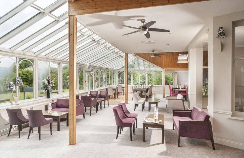 Dining at Derwentwater Hotel.