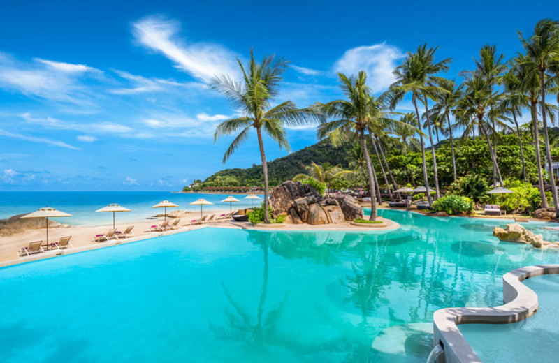 Outdoor pool at Imperial Samui.