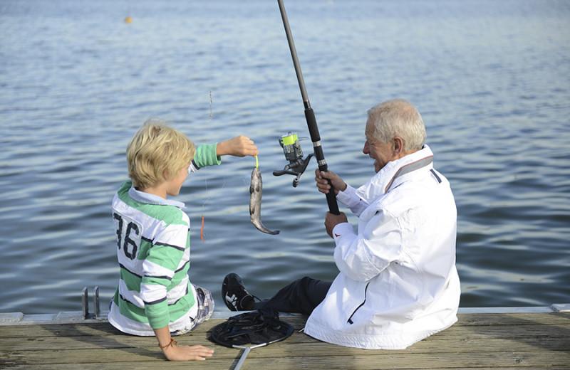 Fishing at Nitschke's Northern Resort.