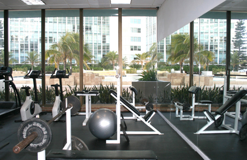 Fitness Center at Seacoast Suites